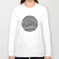wave Long Sleeve T-shirts featuring Wave by Tracie Andrews
