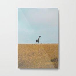 Serengeti XIV Metal Print