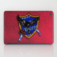 ravenclaw iPad Cases featuring Ravenclaw by JanaProject