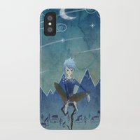jack frost iPhone & iPod Cases featuring Jack Frost by Serena Rocca