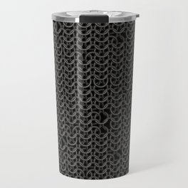 Chain Mail Texture Travel Mug