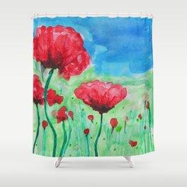 In Flanders Fields Shower Curtain
