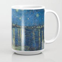 STARRY NIGHT OVER RHONE - VAN GOGH Coffee Mug
