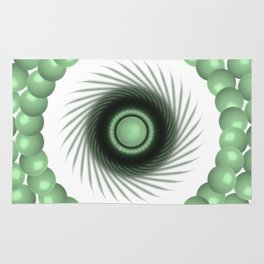 A Touch of the Green Eye Rug