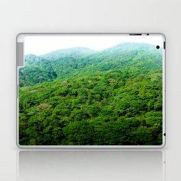 Green Hills of Hakone Laptop & iPad Skin