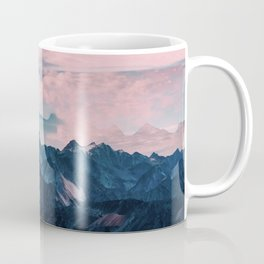 Pastel mountain mood Coffee Mug