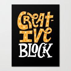 Creative Block Canvas Print