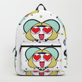 Space Frog In Love. Backpack