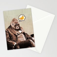 Gorilla My Dreams Stationery Cards