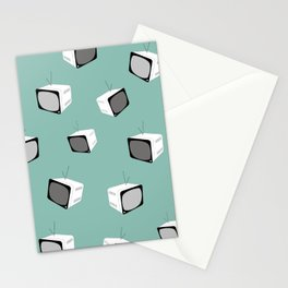 MINT Retro Tv Stationery Cards