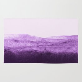 Amethyst Watercolor Crush Rug