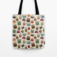 Too many bags, Never! Tote Bag