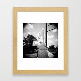 It Follows You... Framed Art Print