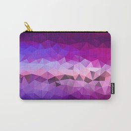 Violet poly art pattern Carry-All Pouch