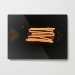 Filament Metal Print