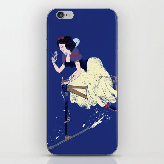 Snow Bike iPhone & iPod Skin