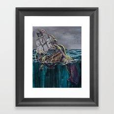 Demise Framed Art Print