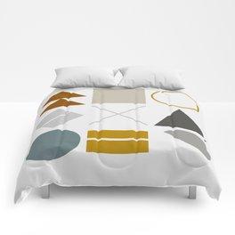Mid West Geometric 02 Comforters