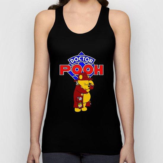 Doctor Pooh Unisex Tank Top