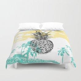 Pineapple print Duvet Cover