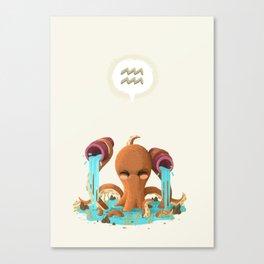 Aquarius Canvas Print