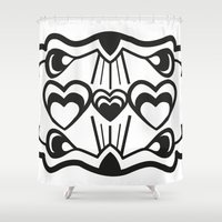 gatsby Shower Curtains featuring Gatsby Romance by AniNers