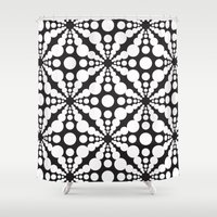 dot Shower Curtains featuring DOT by Vadeco