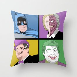 Gotham Candidates 2016 Throw Pillow