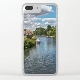 From Windsor Town Bridge Clear iPhone Case