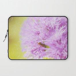 Lavender flower macro Laptop Sleeve