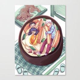 katsudon bed / yuri on ice! Canvas Print