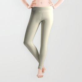 Sweet Corn Pantone fashion pure color trend Spring/Summer 2019 Leggings