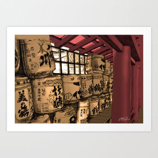 kanji Art Print