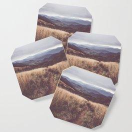 Bieszczady Mountains - Landscape and Nature Photography Coaster