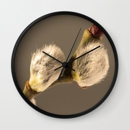 Catkins Wall Clock