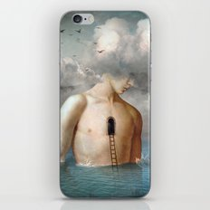 the door to the clouds iPhone Skin