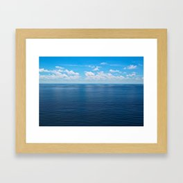 Blue World Framed Art Print