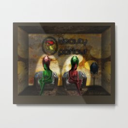 beauty parlour Metal Print