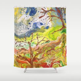 Grassy Knoll Shower Curtain
