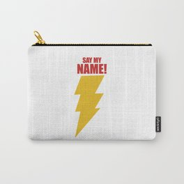 Shazam (Say My Name!) DC Comics Fan Art Carry-All Pouch
