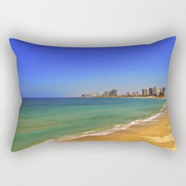 The beach Rectangular Pillow