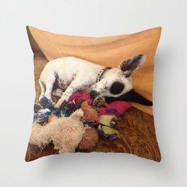 Bindi Girl Throw Pillow