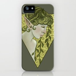 Elven Garden iPhone Case