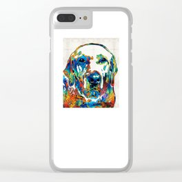 Labrador Retriever Art - Play With Me - By Sharon Cummings Clear iPhone Case