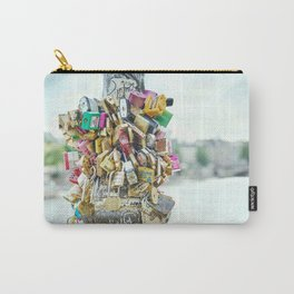 Paris Love Locks Carry-All Pouch