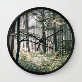 Lush Forest Wall Clock