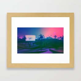 Hypnotism Framed Art Print