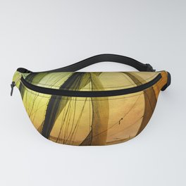 Sailing Schooner from the past Fanny Pack
