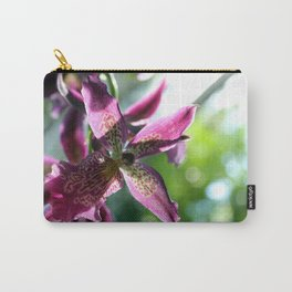 Spotted Magenta Orchid Carry-All Pouch