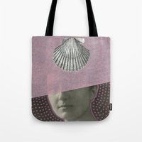 audrey Tote Bags featuring Audrey by Naomi Vona